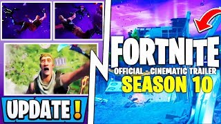 *NEW* Fortnite Update! | Season 10 Official Trailer, Map Changes, Battle Pass!