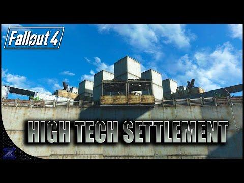 Fallout 4 Automatron - Main Settlement Build | Wasteland Workshop Preparation |
