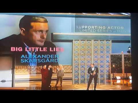 Alexander Skarsgard Emmy Win!