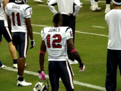 "Texans Jacoby Jones ""Lose Yourself"""