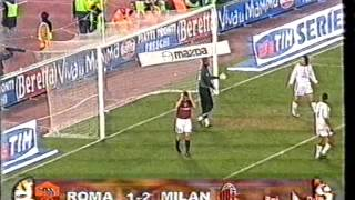 Serie A 2003/2004: AS Roma vs AC Milan 1-2 - 2004.01.06 -