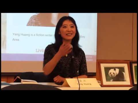 """Meet the Author"" Yang Huang on novel ""Living Treasures"" Part 2"