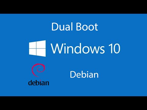 How to Dual Boot Windows 10 with Debian 2015