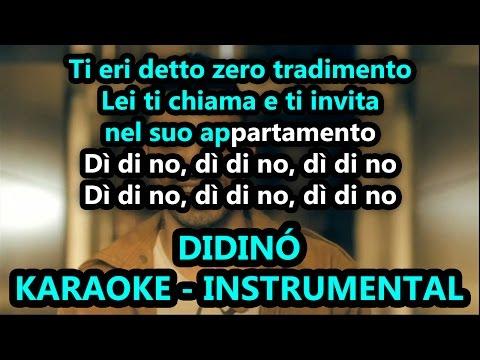 Marracash: DIDINÒ (Karaoke - Instrumental)