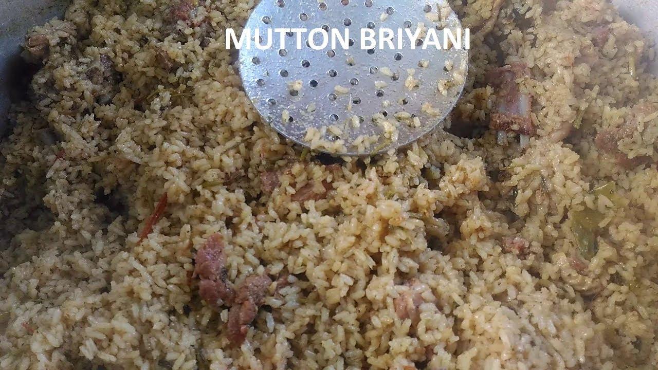 Mutton Briyani | Traditional Mutton Dum Briyani | How To Make Mutton Biryani By Natural Foods