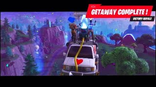 FORTNITE BATLLE ROYALE-New LTM GETAWAY-VICTORY ROYALE