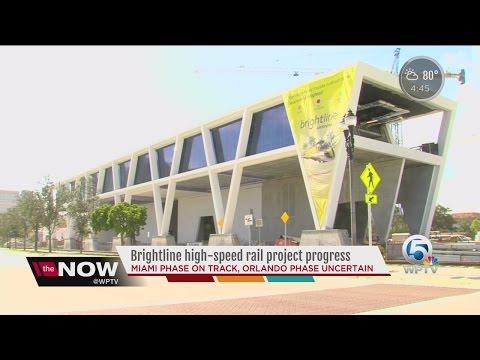 Brightline high-speed rail project progress