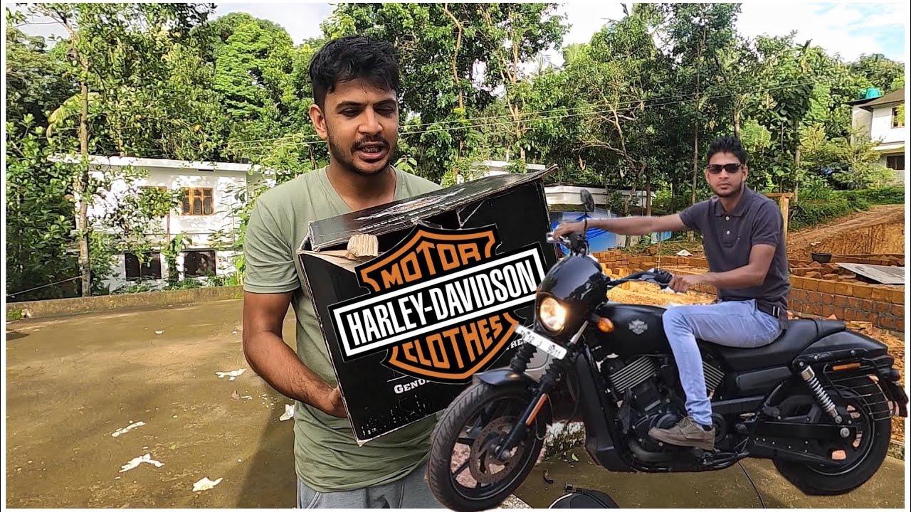 ഗിഫ്റ്റ് കിട്ടി 😍   Harley Davidson brand Gifted By Subscriber