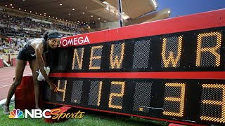 World record broken in women's mile at Diamond League Monaco | NBC Sports