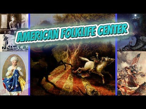 American Folklife Center - American FolkLore ✅🧚🧙🧜🔮💬