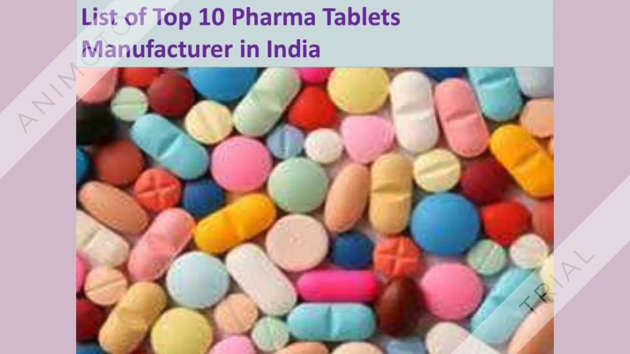 Top Pharma Tablets Manufacturer in India | Tablets Third