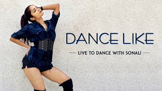 Harrdy Sandhu - Dance Like | Lauren Gottlieb | Jaani | B Praak | LiveToDance with Sonali