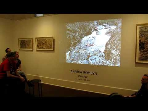 Annika Romeyn Artist Talk 'Passage' March 2015 Flinders Lane Gallery