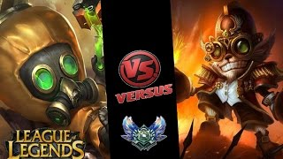 League of Legends - DIAMOND RANKED - HEIMERDINGER VS ZIGGS MIDLANE!