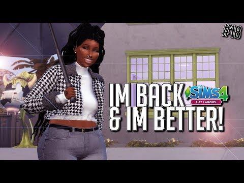I'M BACK & I'M BETTER! | The Sims 4 Get Famous LP #18 thumbnail