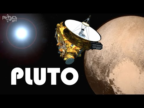 New Horizons first probe to reach pluto!
