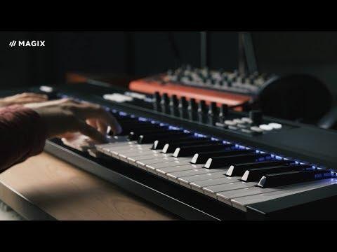 MAGIX Samplitude Music Studio – MIDI Velocity Dynamics (INT)