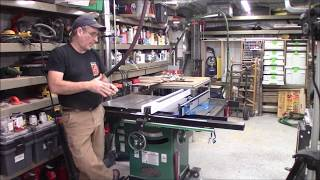 Part 2 Grizzy G1023 RL table saw review, issues and upgrades