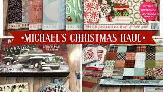 Michael's Christmas Haul | Hot Buy paper pads, home decor, and more!