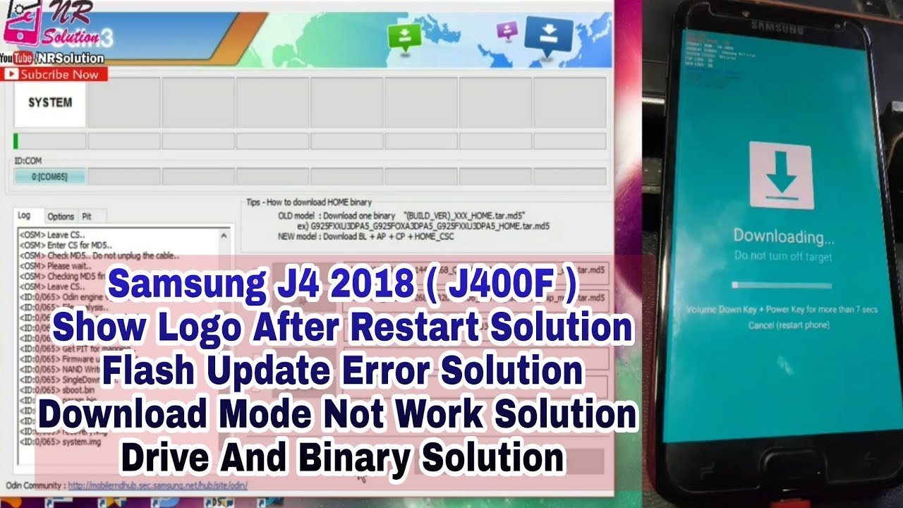 Samsung J400F Update Flash File , Download Mode Solution