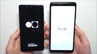 Essential Phone vs Google Pixel 2 XL Speed Test! Stock Android Battle!