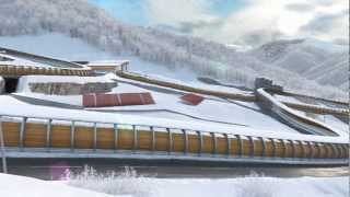 Repeat youtube video Olympic venues Sochi 2014 - all stadiums description
