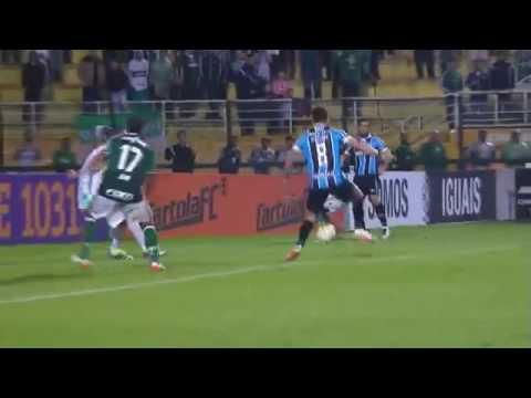 Palmeiras 4 x 3 Grêmio, GOLS - Brasileirão 2016