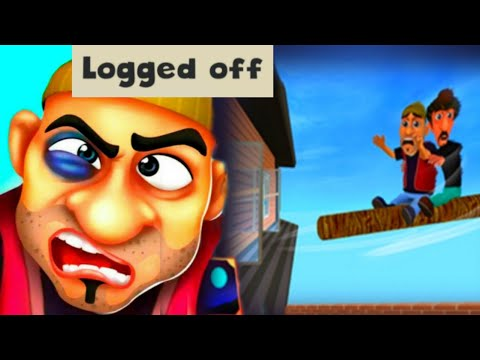 SCARY ROBBER HOME CLASH! Logged Off! NEW UPDATE! Gameplay [Android - IOS]