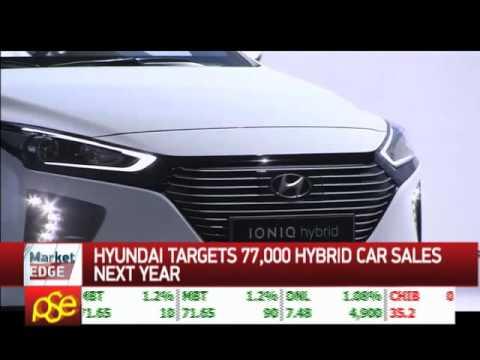Hyundai targets 77,000 hybrid car sales next year