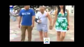 У ополченца Моторолы вместе с женой МЕДОВЫЙ МЕСЯЦ в Крыму!!!УКРАИНА СЕГОДНЯ НОВОСТИ 25 07 2014