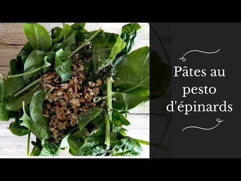 //une-recette-qui-change-des-pâtes-bolo😅😋//-pesto-épinards-et-noix