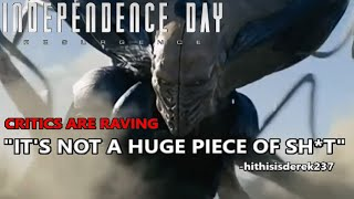 INDEPENDENCE DAY: RESURGENCE (2016) Movie Review