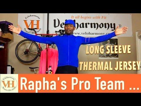 Rapha s Pro Team Long Sleeve Thermal Jersey b0f1e65d2