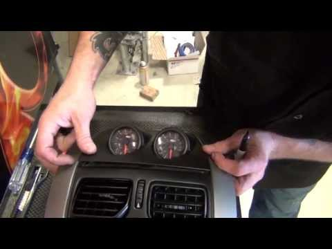 2004-2006 gto oem scss gator dash pod gauge installation 04-06 part 2:  gtog8ta com - youtube