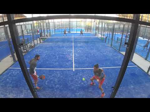 Plantier / Santos vs Haziza / Moreau Championnats D'Europe de Padel 2017 / Tennis Club Estoril