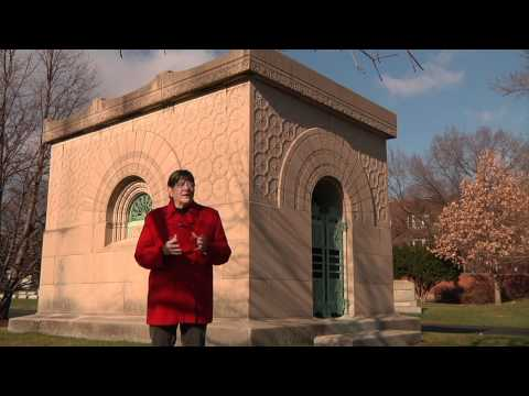 Graceland Cemetery - The Getty and Ryerson Tombs by Louis Sullivan