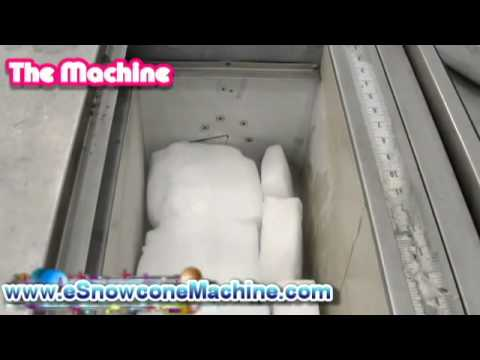 how does a snow machine work