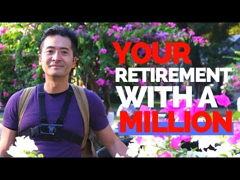 How To Retire With One Million Dollars!  The FIRE Movement!