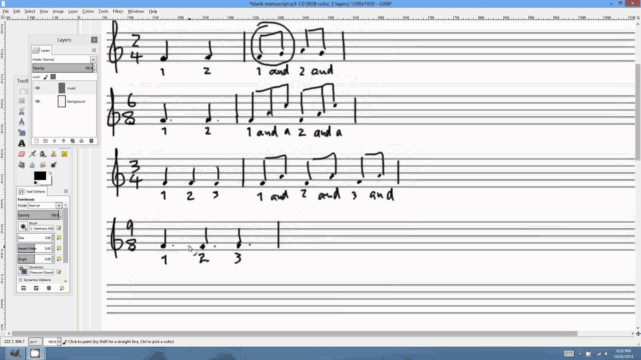 time signatures  musicfunnetau