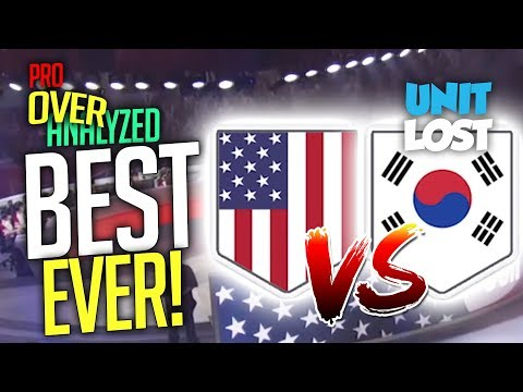 Overwatch - The Best Game In The HISTORY Of Overwatch! USA vs South Korea [Pro OverAnalyzed] thumbnail