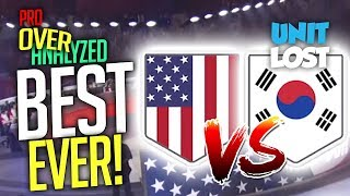 Overwatch - The Best Game In The HISTORY Of Overwatch! USA vs South Korea [Pro OverAnalyzed]
