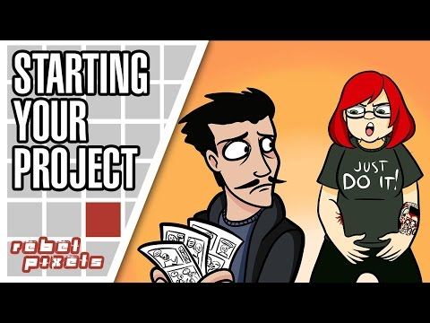 Advice on (ACTUALLY) Starting Your Creative Project | Rebel Broadcast #1