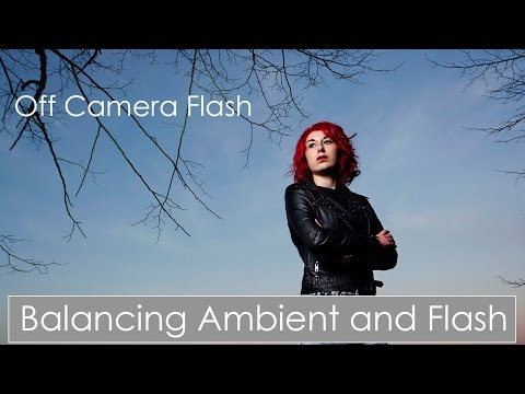 Balance ambient and flash light using Off Camera Flash