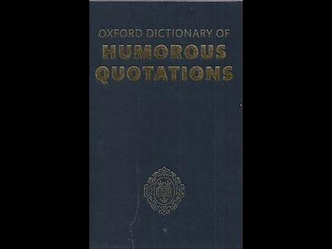 Dictionary of Humerous Quotations