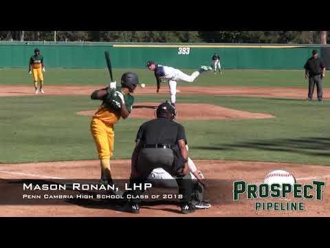 Mason Ronan Prospect Video, LHP, Penn Cambria High School Class of 2018
