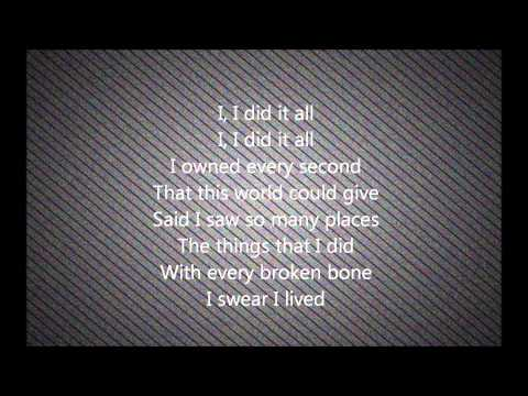 I lived - One Republic Cover by Caleb & Kelsey-Lyrics