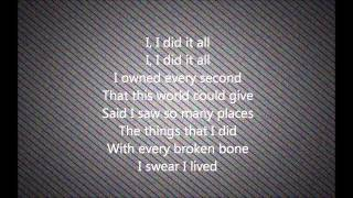 I lived - One Republic Cover by Caleb & Kelsey-Lyrics