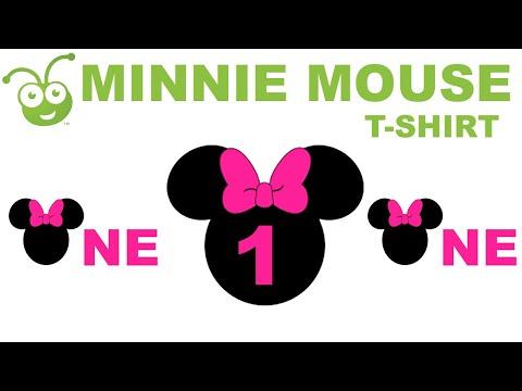 Cricut Design Space - Minnie Mouse T-Shirt