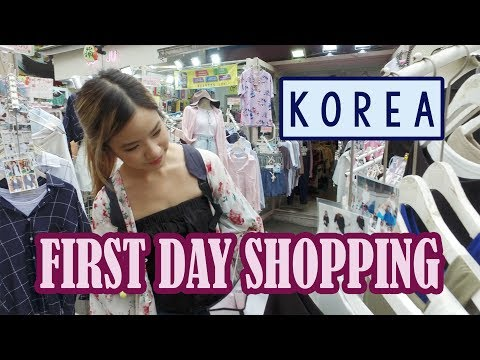 Shopping in Hongdae | First Day in KOREA ft. Sunnydahye