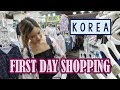 Shopping in Hongdae   First Day in KOREA ft. Sunnydahye